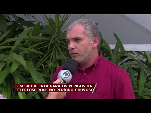 SESAU alerta para os perigos da leptospirose no período chuvoso