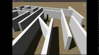 unity 3.5 Pathfinding test with the Locomotion System
