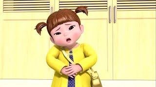 Больной животик - КОНСУНИ, чудеса каждый день - Серия 4 - Развивающие мультфильмы для детей