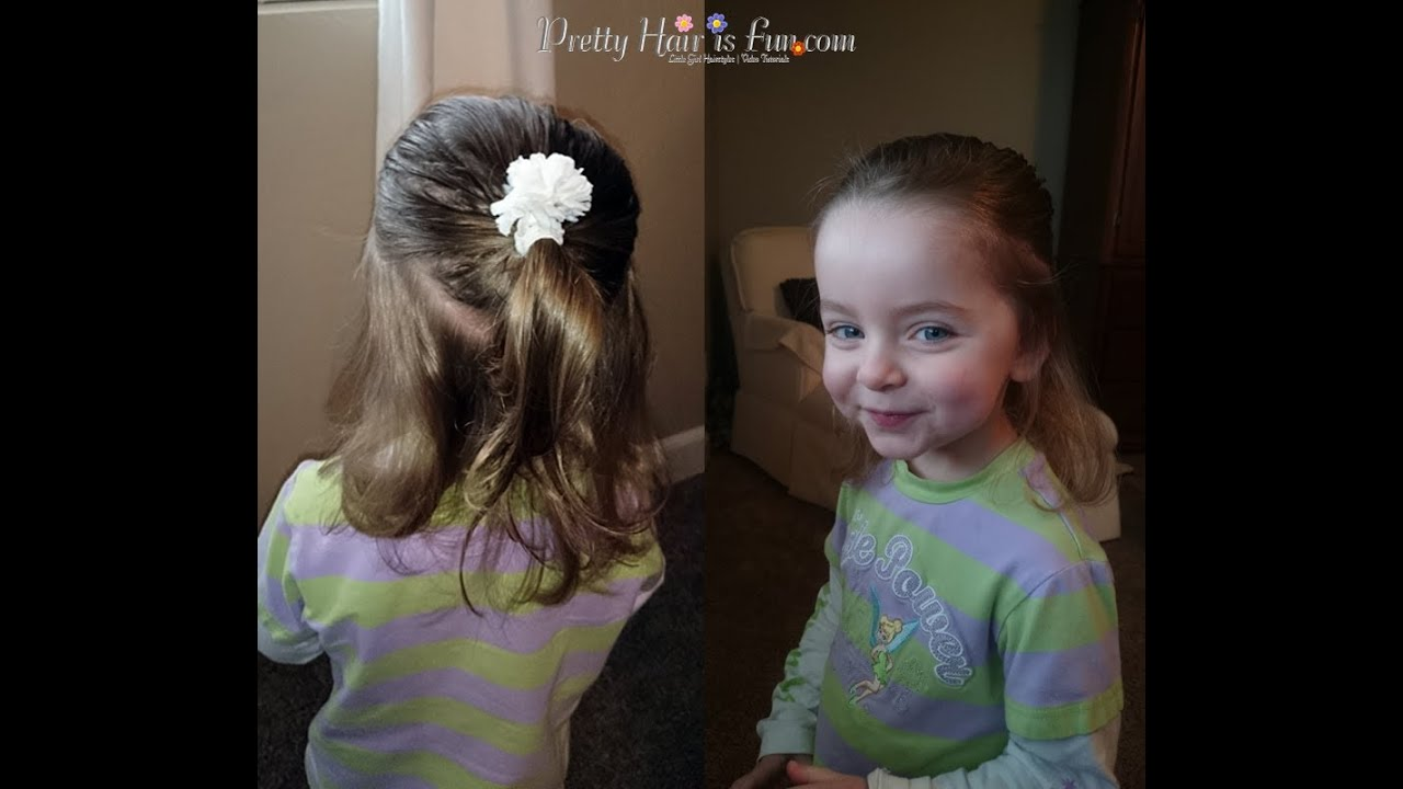 Silly Toddler Hairstyle Done By Dad Pretty Hair Is Fun YouTube