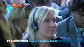 Marine Le Pen, grande vedette d