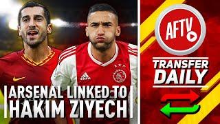 Arsenal Linked To Ziyech & Roma's Mkhitaryan Bid Rejected! | AFTV Transfer Daily