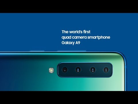 Samsung Galaxy A9 2018 Official Video, Trailer, TVC, Official First Look