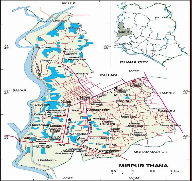 dhaka city map bangladesh dhaka city map bangladesh