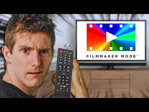 """What the heck does the """"Filmmaker Mode"""" button do??"""