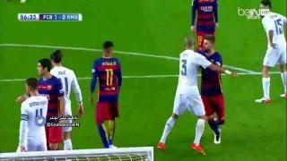 اهداف برشلونة وريال مدريد 5-2 تعليق عربي 2016