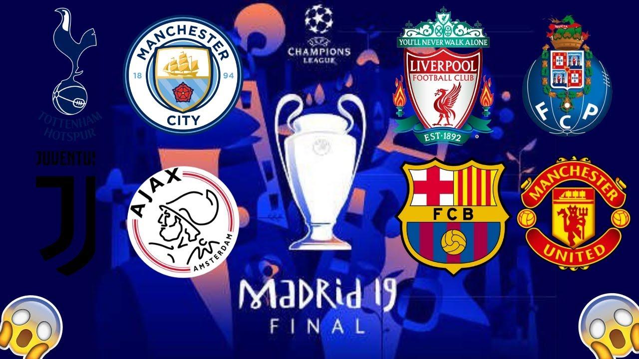 Mi predicción de los cuartos de final de la UEFA CHAMPIONS LEAGUE ...