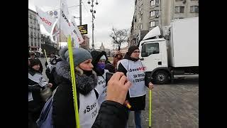 ФОПы перекрывают дороги в Киеве. #SaveФОП