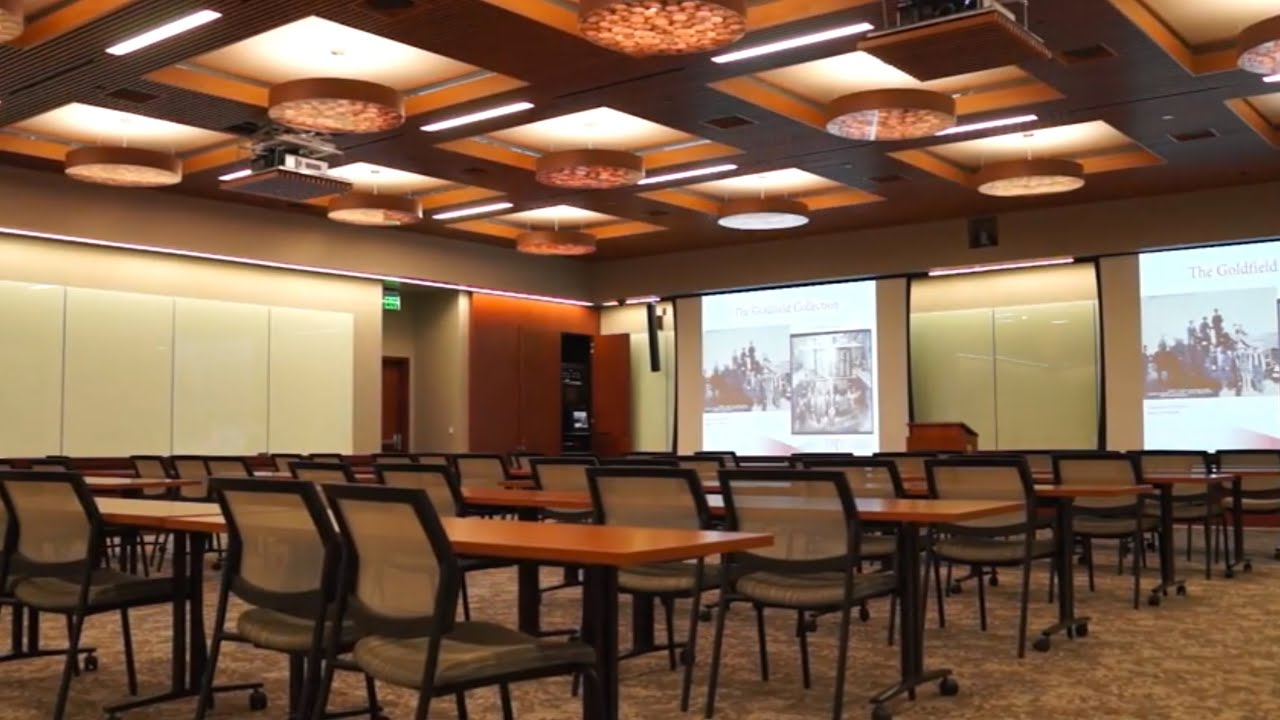 Incroyable UNLV Lied Library   Goldfield Room, Multi Purpose Room   YouTube