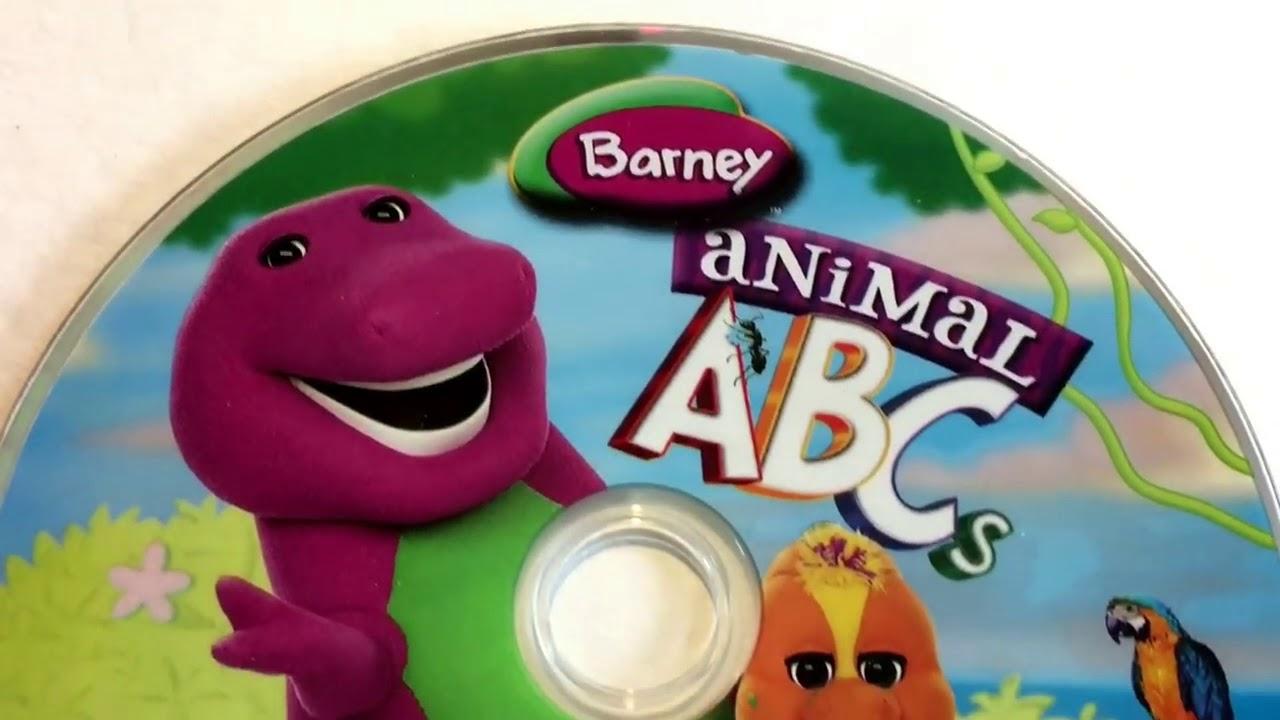 Barney Animal Abcs Video Barney Friend Dvd Collection Display