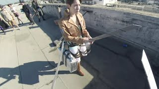 Sesepuhnya Fanny 😂 Attack on Titan Real Live First Person Shooter