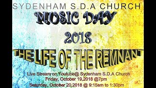 """MUSIC DAY 2018 """"THE LIFE OF THE REMNANT"""" PART 2 LIVESTREAM"""