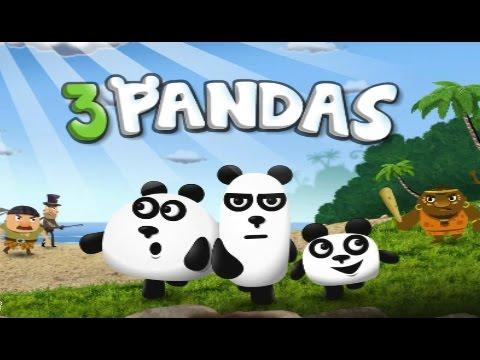 Видео Онлайн игра 3 панды