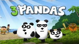 Мультфильм три панды. игра онлайн. прохождение 3 pandas