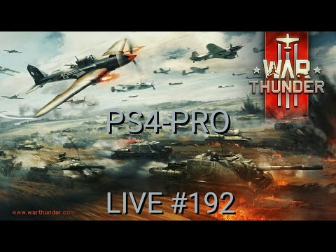 War Thunder Live #192 ( rumo ah 1000 inscritos ) Ps4-Pro PT_