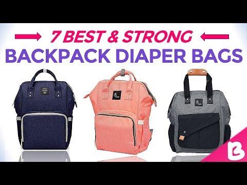 7 Best Backpack Diaper Bags | Nursing Bags | Multi-Function Waterproof Mother Bags