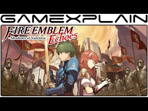 2 Hours of Fire Emblem Echoes: Shadows of Valentia Gameplay - Japanese Release Livestream!