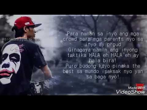 Kayo na lahat lyrics song by #idolsinio