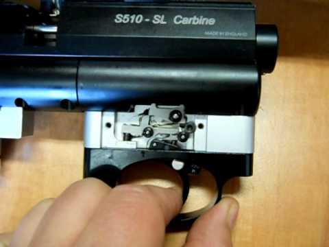 Air Air Arms S510 Extra Fac 22 Disassembling Parts