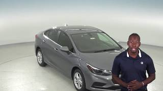 183124 - New, 2018, Chevrolet Cruze, LT, Sedan, Gray, Test Drive, Review, For Sale -
