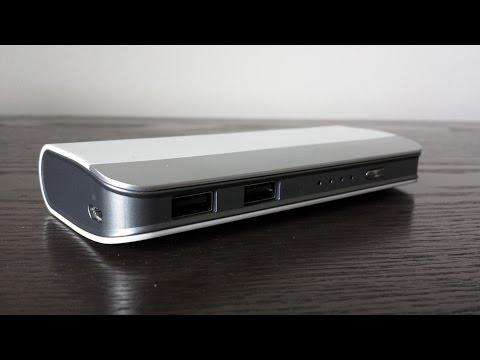 10,000+ mAh Portable Battery Pack - Best Tech Under $50 - Lumsing 10,400mAh Battery Pack Review