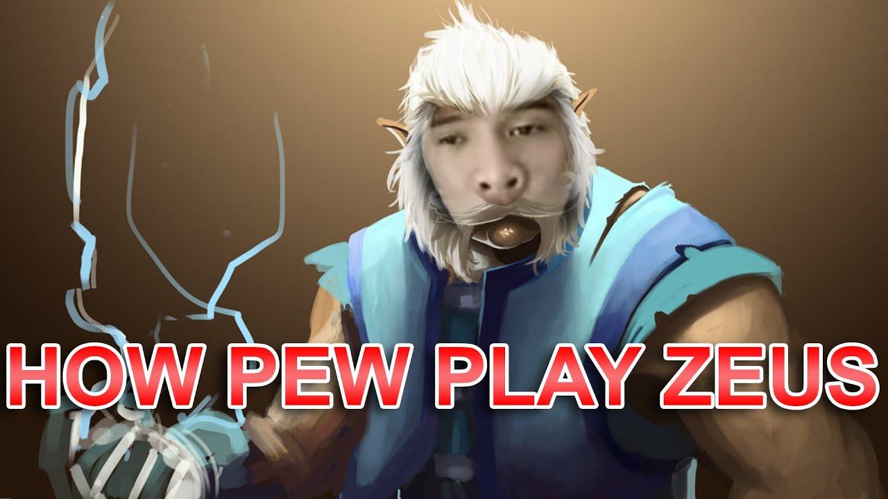 Zeus – PewPew Episode 3 – Hero rất dễ chơi cho người mới