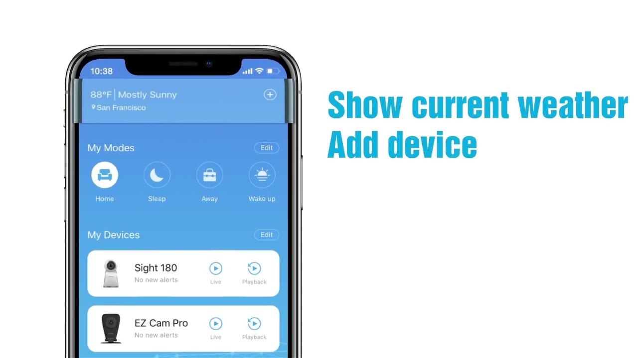 New Zmodo App Introduction