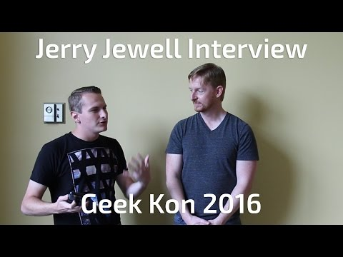 Jerry Jewell: Voice Actor Interview Geek Kon 2016