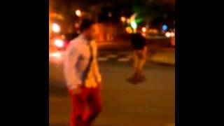 Two fags fight over a dollar dollar bill yall