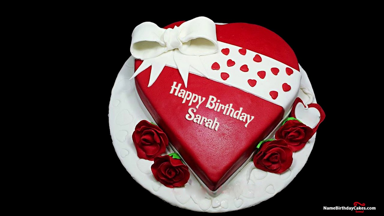 Happy Birthday Sara Best Wishes For You Youtube