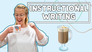Instructional Writing For Kids // English For Kids