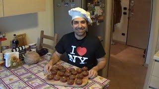 Ricetta Muffin Alla Ricotta Con Cioccolato E Nocciole - Ricotta & Chocolate Chunk Muffin Recipe