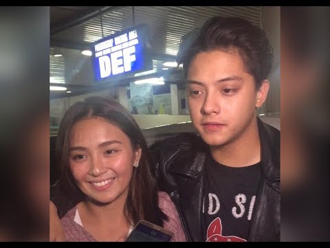 Kathryn And Daniel Straight From Malaysia For Barcelona A Love Untold Premiere