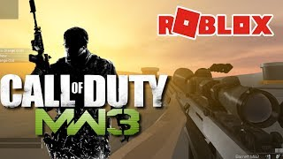 SynthesizeOG NEEDS TO SEE THIS GAME! Modern Warfare in ROBLOX! Warshock
