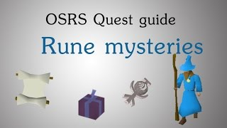 [OSRS] Rune Mysteries quest guide