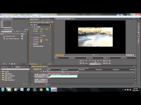 How to Rotate a Video in Adobe Premiere Pro