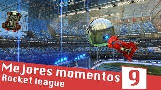 MEJORES MOMENTOS #9 (Goles, Salvadas y Momentos Graciosos) | Rocket League