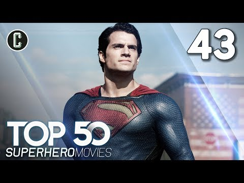 Top 50 Superhero Movies: Man Of Steel - #43