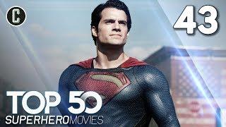 Top 50 Superhero Movies: Man Of Steel - #43