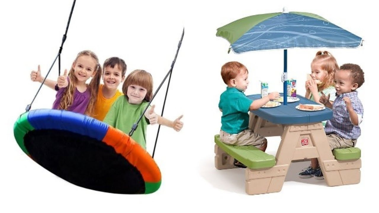 Top 7 Best Kids Outdoor Toys In 2018