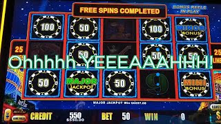 I WON MY BIGGEST JACKPOT ON MY VERY 1ST SPIN!  High Limit Lightning Link MAJOR + MORE  🤑 1000 Subs!