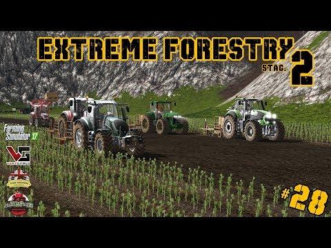 EXTREME FORESTRY STAGIONE 2 | #28 ep. - PIANTAGIONE PIOPPI - FARMING SIMULATOR 17