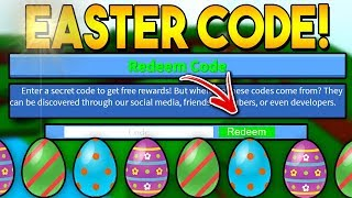 *EXCLUSIVE* EASTER CODE!! | Build a boat for Treasure ROBLOX
