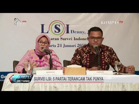 Survei LSI: 5 Partai Terancam Tak Punya Wakil di DPR Mp3