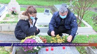 Yvelines | Les Yvelinois ont fleuri les tombes de leurs proches pour la Toussaint