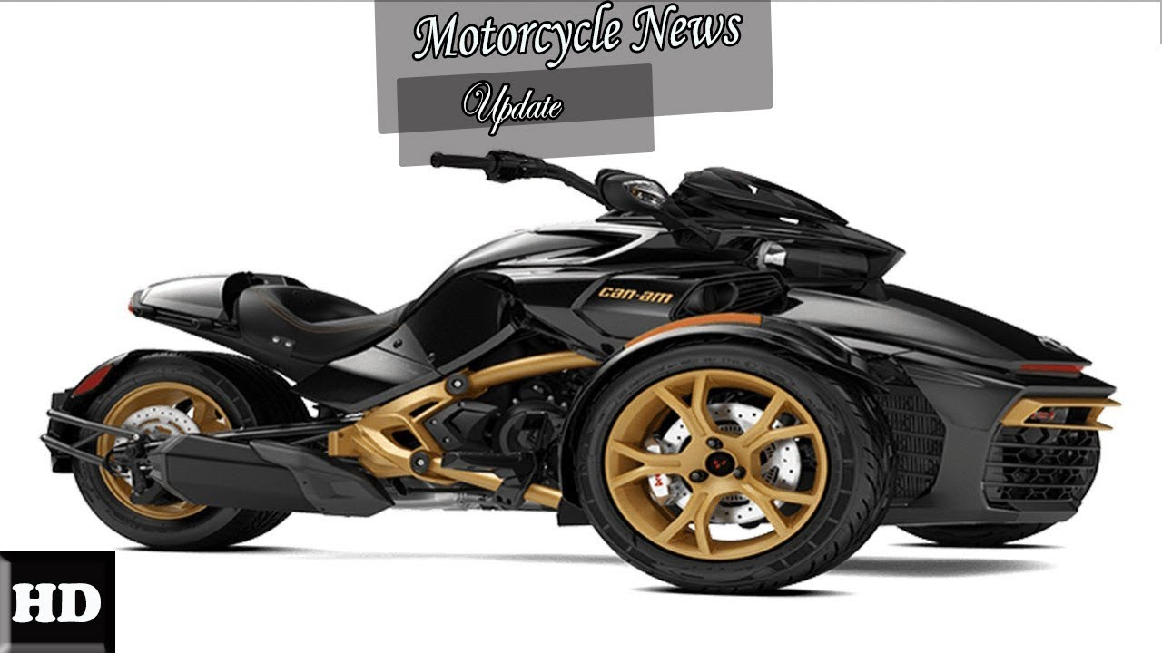 hot news 2018 can am spyder f3 f3 s engine and price overview youtube. Black Bedroom Furniture Sets. Home Design Ideas