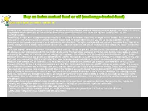 how-to-:-buy-an-index-mutual-fund-or-etf-(exchange-traded-fund)