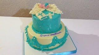 Торт на крестины для мальчика Торты для детей  Cake for the christening for a boy