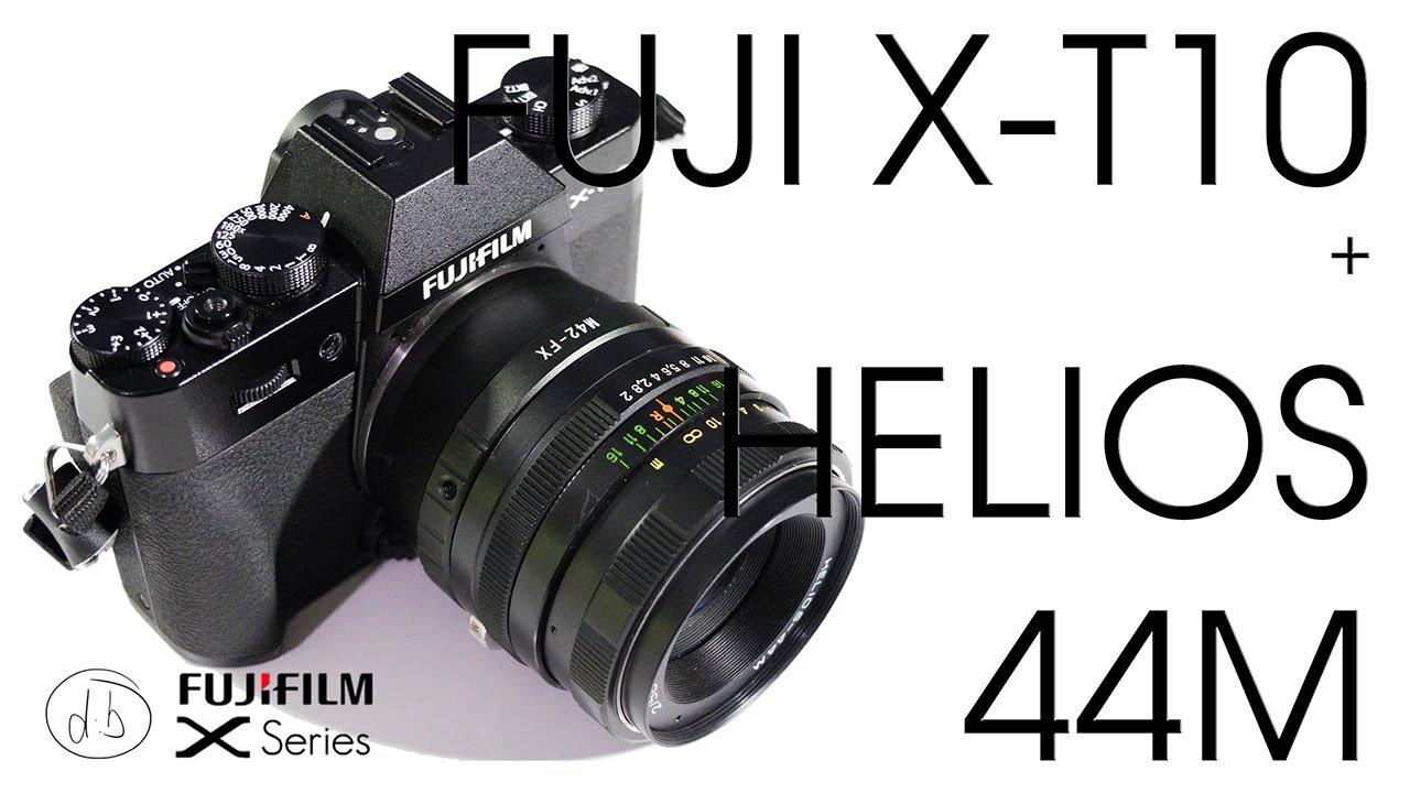 Fujifilm X T10 Helios 44 M 58mm F2 Review M42 Vintage Lens Youtube T100 Body Xf35mm Black Kamera Mirrorless