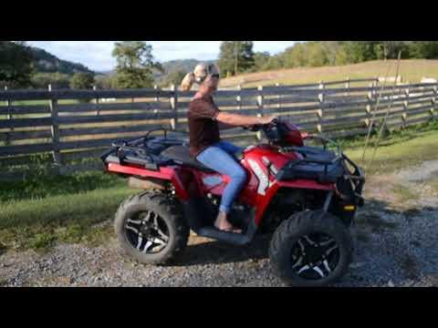 Online Auction ending 11/26/17 featuring Polaris 4 Wheeler ATV - Auburntown, TN
